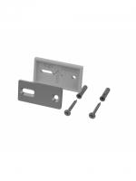 Wandflansch verstärkt zu Handtuchhalter CHIC14 inkl. 2 Schrauben und Dübel