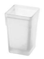 Mattglas zu WC-Bürstengarnitur SIMARA, CREATIVA