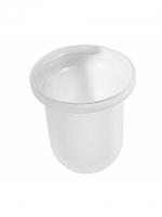Mattglas zu WC-Bürstengarnitur MIRA, DOLANO, FLORA, DUO, CHARME, TWIST