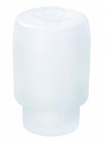 Seifenspendergehäuse, matt AMARILO inkl. Gummiring