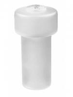 Récipient pour distributeurs de savon, opaque, sans pompe, inclus rondelle en caoutchouc