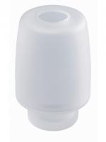Récipient pour distributeur de savon à pose, DOLANO, DOLANO NEW, HARMONY, opaque  modèle mural DOLANO NEW, inclus rondelle en caoutchouc