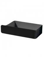 Aufbewahrungs- und Feuchttücherbox, schwarz CREATIVA