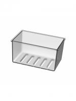 Kunststoffkorb matt zu Duschkorb CHIC14 Innendimension 14 x 8.5 cm