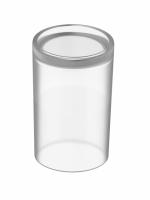 Glasdeckel matt zu Hygiene-Utensilienbox LIV