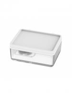 LIV Feuchttücherbox (Zubehör), Tritan unzerbrechlich matt, BPA frei Ausladung nach rechts