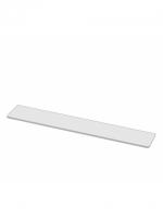 Glastablar 50 cm, Mattglas CHIC14 50 x 12 x 0.8 cm, (Glasstärke 8mm)
