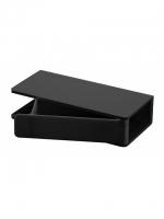 CREATIVA Aufbewahrungsbox zu Elektromodul,  inkl. Schraubenset, schwarz