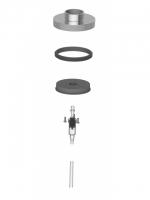 Schliessdeckel inkl. Dichtring und Pumpe Kunststoff zu Seifenspender NIA (ohne Spenderdrücker und Seifenspendergehäuse)